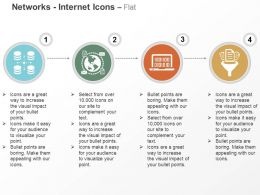 Database Connection Global Network Process Filtration Ppt Icons Graphics
