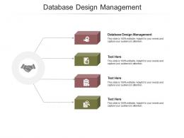Database Design Management Ppt Powerpoint Presentation Icon Example File Cpb