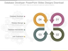 Database Developer Powerpoint Slides Designs Download