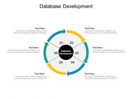 Database Development Ppt Powerpoint Presentation Summary Themes Cpb