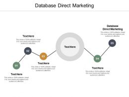 Database Direct Marketing Ppt Powerpoint Presentation Slides Template Cpb