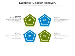 Database Disaster Recovery Ppt Powerpoint Presentation Infographic Template Samples Cpb