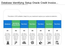 Database Identifying Setup Oracle Credit Invoice Exiting Invoice