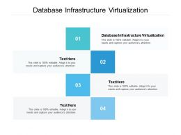Database Infrastructure Virtualization Ppt Powerpoint Presentation Model Styles Cpb