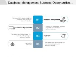 Database Management Business Opportunities Intellectual Property Stress Management Cpb