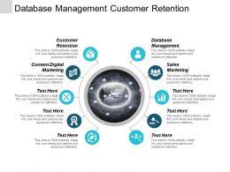 Database Management Customer Retention Content Digital Marketing Sales Marketing Cpb