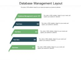 Database Management Layout Ppt Powerpoint Presentation Ideas Inspiration Cpb