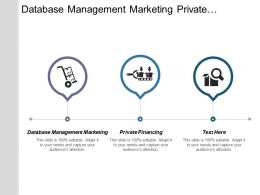 Database Management Marketing Private Financing Internet Marketing Optimization Cpb