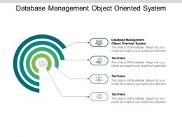 Database Management Object Oriented System Ppt Powerpoint Presentation Inspiration Graphics Tutorials Cpb