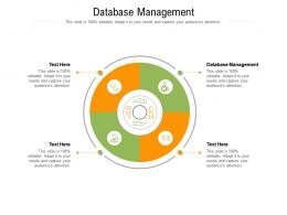Database Management Ppt Powerpoint Presentation Styles Samples Cpb