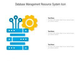Database Management Resource System Icon