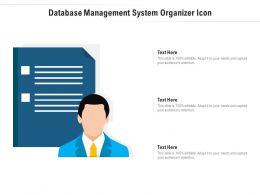 Database Management System Organizer Icon