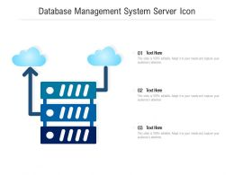 Database Management System Server Icon