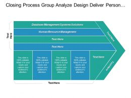 Database Management Systems Solutions Human Resource Management Project Management Cpb
