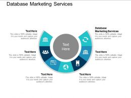 Database Marketing Services Ppt Powerpoint Presentation Outline Tips Cpb