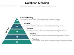 Database Masking Ppt Powerpoint Presentation Design Templates Cpb