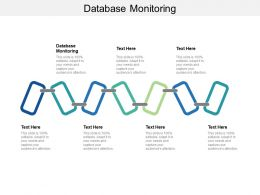 Database Monitoring Ppt Powerpoint Presentation Professional Infographics Cpb