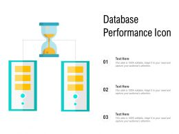 Database Performance Icon
