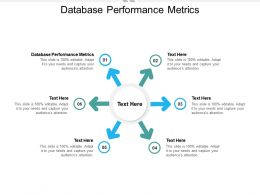 Database Performance Metrics Ppt Powerpoint Presentation Outline Tips Cpb