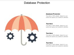 Database Protection Ppt Powerpoint Presentation File Mockup Cpb