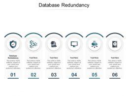 Database Redundancy Ppt Powerpoint Presentation Outline Clipart Cpb