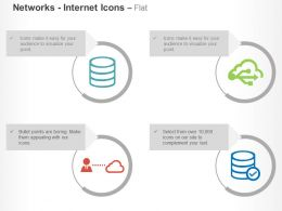 Database Server Share Cloud Technology Ppt Icons Graphics