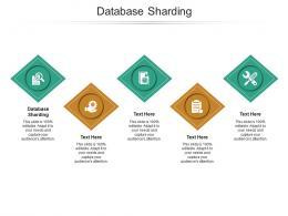 Database Sharding Ppt Powerpoint Presentation Styles Design Templates Cpb
