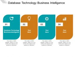 Database Technology Business Intelligence Ppt Powerpoint Presentation Inspiration Example File Cpb
