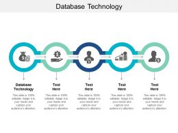 Database Technology Ppt Powerpoint Presentation Infographics Format Ideas Cpb