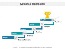 Database Transaction Ppt Powerpoint Presentation Styles Introduction Cpb