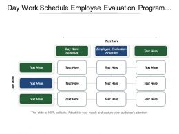 Day Work Schedule Employee Evaluation Program Customer Loyalty Cpb