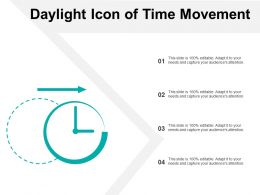 Daylight Icon Of Time Movement