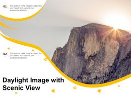 Daylight Image With Scenic View