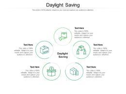 Daylight Saving Ppt Powerpoint Presentation Ideas Format Ideas Cpb