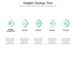 Daylight Savings Time Ppt Powerpoint Presentation Styles Show Cpb