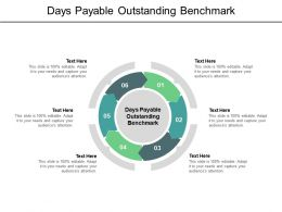 Days Payable Outstanding Benchmark Ppt Powerpoint Presentation Layouts Professional Cpb