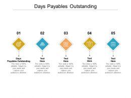 Days Payables Outstanding Ppt Powerpoint Presentation Portfolio Elements Cpb