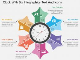 dc_clock_with_six_infographics_text_and_icons_flat_powerpoint_design_Slide01