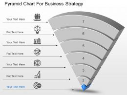 dd Pyramid Chart For Business Strategy Powerpoint Template
