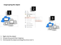 28339207 Style Technology 1 Cloud 4 Piece Powerpoint Presentation Diagram Infographic Slide