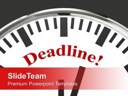 Deadline Business Meeting Powerpoint Templates Ppt Themes And Graphics 0113