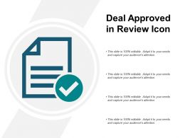 Deal Approved In Review Icon