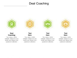 Deal Coaching Ppt Powerpoint Presentation Model Elements Cpb