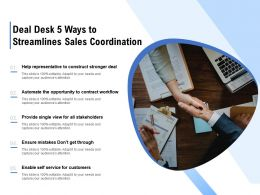 Deal Desk 5 Ways To Streamlines Sales Coordination