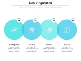 Deal Negotiation Ppt Powerpoint Presentation Icon Outline Cpb