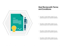 Deal Review With Terms And Conditions