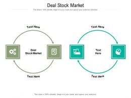 Deal Stock Market Ppt Powerpoint Presentation Portfolio Diagrams Cpb
