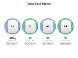 Dealer Lead Strategy Ppt Powerpoint Presentation Inspiration Sample Cpb