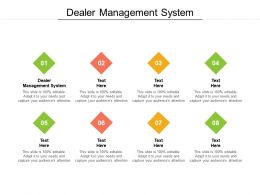 Dealer Management System Ppt Powerpoint Presentation Gallery Cpb