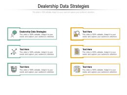 Dealership Data Strategies Ppt Powerpoint Presentation Infographics Graphics Cpb